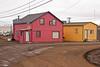Colorful homes in Barrow, Alaska
