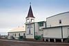 Presbyterian church built in 1888 in the center of Barrow, Alaska