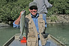 Success! Alan with Sockeye Salmon.