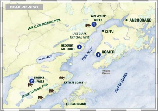 Katmai Map
