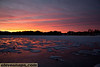 Beluga Lake frozzen sunrise