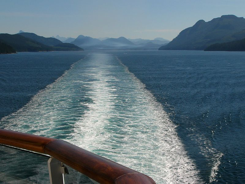 Underway on the Inside Passage