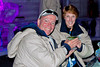 Alan & Judy enjoying an Appletini in Chena Hot Springs Ice Museum~served in lath-turned martini glasses
