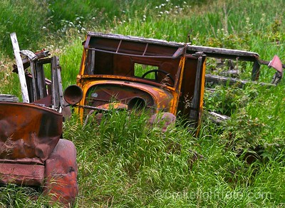 Old Wrecked Cars