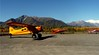 Taking a flightseeing tour of Wrangell/St. Elias National Park is an option while in McCarthy. The flights will be in de Havilland Beaver and Cessna 206 aircraft flying from the McCarthy airstrip. (Photograph by Wrangell Mountain Air).