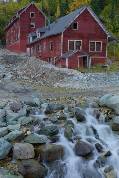 Copper Mill Buildings, Kennicott Mine, Alaska