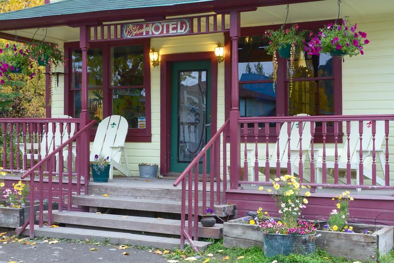 Ma Johnson's Hotel, McCarthy, Wrangell - St. Elias National Park, Alaska