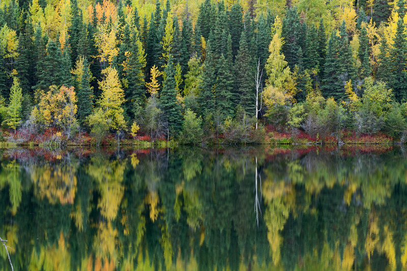 Long Lake, McCarthy Road, Wrangell - St. Elias National Park, Alaska