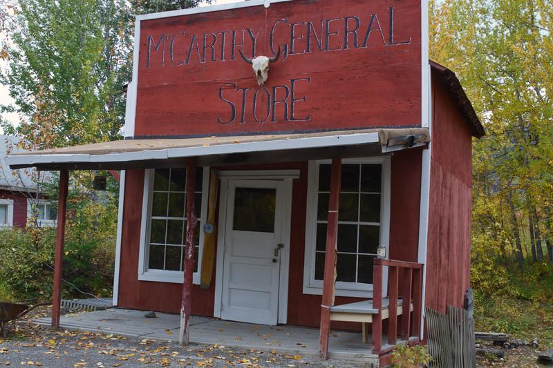 McCarthy General Store, McCarthy, Wrangell - St. Elias National Park, Alaska