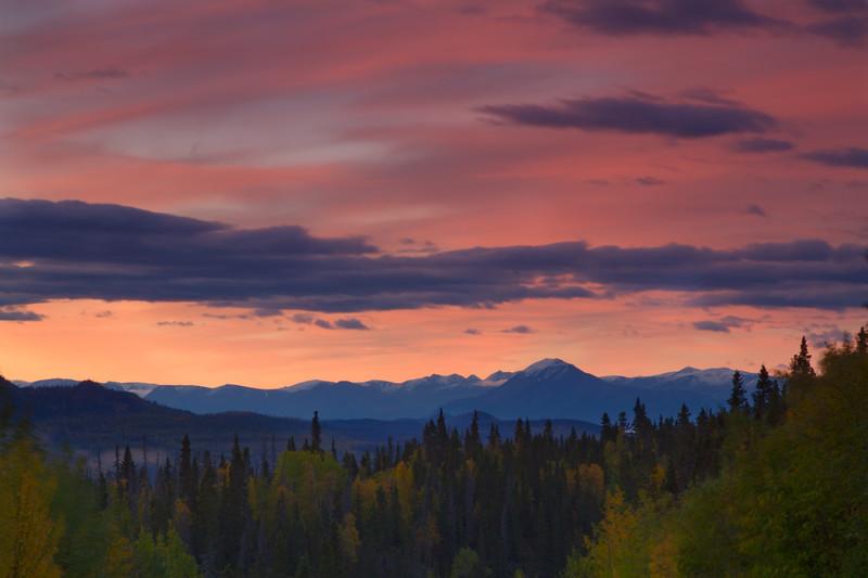 Sunrise, Chitina, Alaska