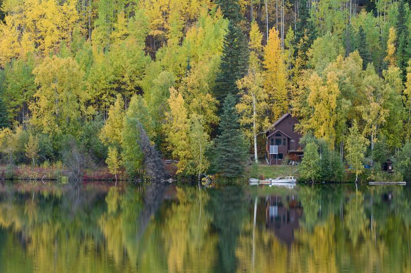 Homestead, McCarthy Road, Wrangell - St. Elias National Park, Alaska