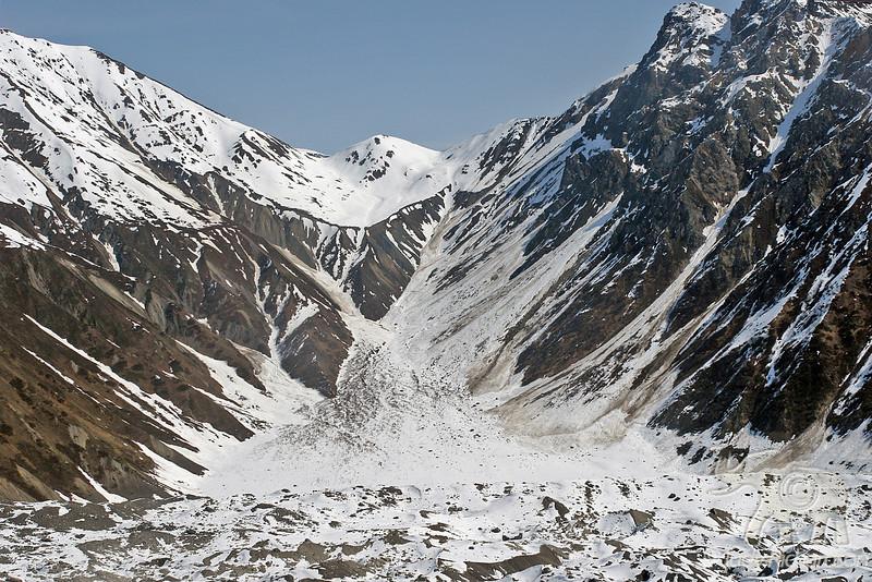 Saddle~Tokositna Glacier