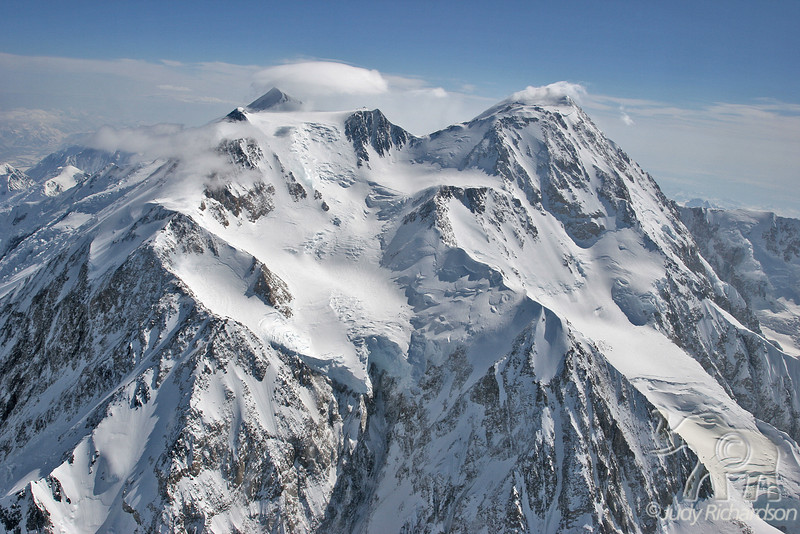 Denali out of the clouds
