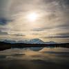 Reflection Pond, Denali in background, 2016.