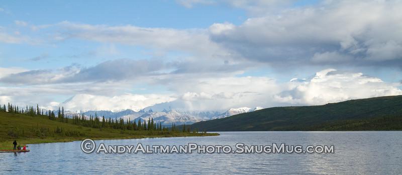 Clearing view of Mt Mckinley & Wonder Lake (2)