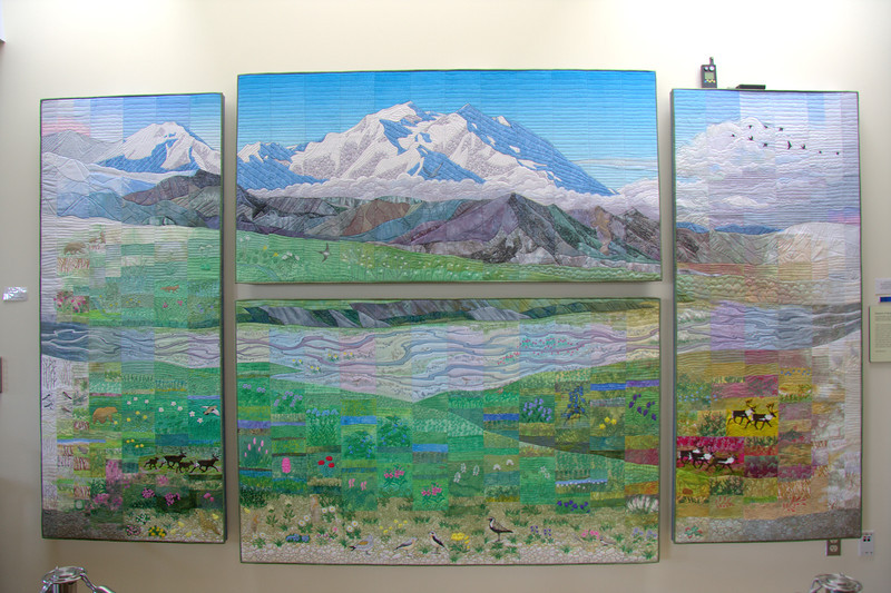 Quilt in Eielson Visitor Center