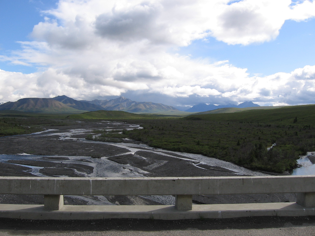 Entering Denali National Park