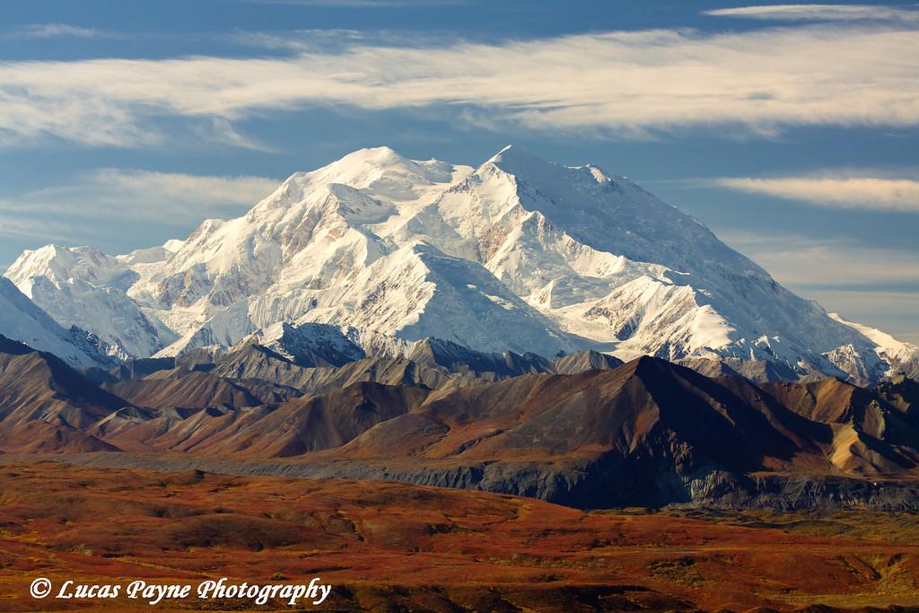 Denali (Mt. McKinley) from Eielson Visitor Center in Denali National Park. <br /> September 06, 2010