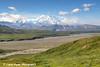 Scenic view of Denali (Mt. McKinley) near Eielson Visitor Center, Denali National Park & Preserve, Interior Alaska.<br /> <br /> August 02, 2013