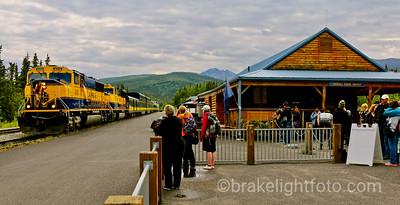 Alaska Railroad - Denali Park Depot