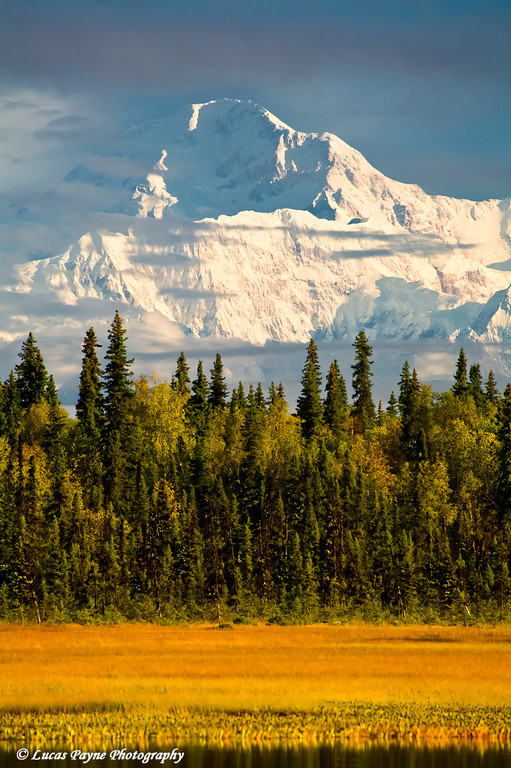 Denali (Mt. McKinley) from the Petersville Road<br /> September 02, 2010