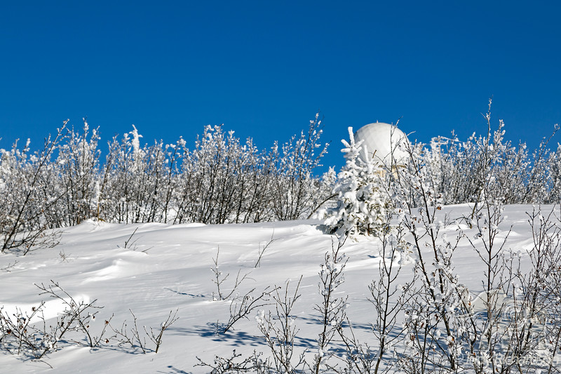 Murphy Dome outside Fairbanks