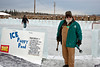 Completing the ice hockey rink at the Ice Park, Fairbanks, Alaska~2012