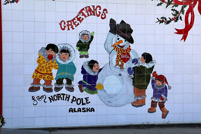 North Pole Mural