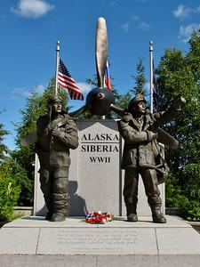 Alaska Siberia WW II Memorial