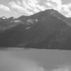 Mountains along the south side of Turnagain Arm