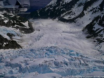 Top of Bertha Glacier