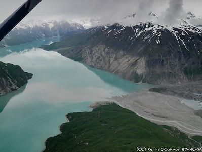Silt from McBride Glacier into Muir Inlet