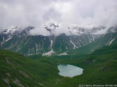 Lakes on top of White Thunder Mountains