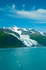 The Gilman and John Hopkins Glaciers in Glacier Bay National Park, Alaska, USA.