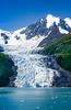 The John Hopkins Glacier in Glacier Bay National Park, Alaska, USA.
