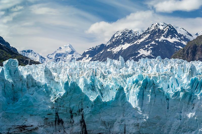 The Margerie Glacier in Glacier Bay National Park, Alaska, USA.