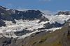 Glacier at high elevation ~ Glacier Bay