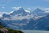 Mountains surrounding Glacier Bay