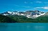 The Fairweather mountains near Glacier Bay National Park, Alaska, USA.