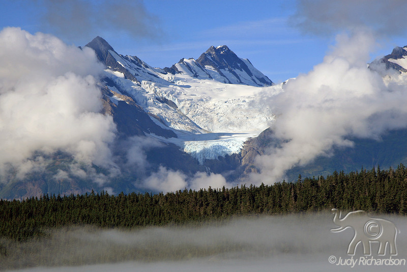 Haines early morning fog & clouds