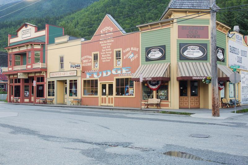 Downtown, Skagway, Alaska