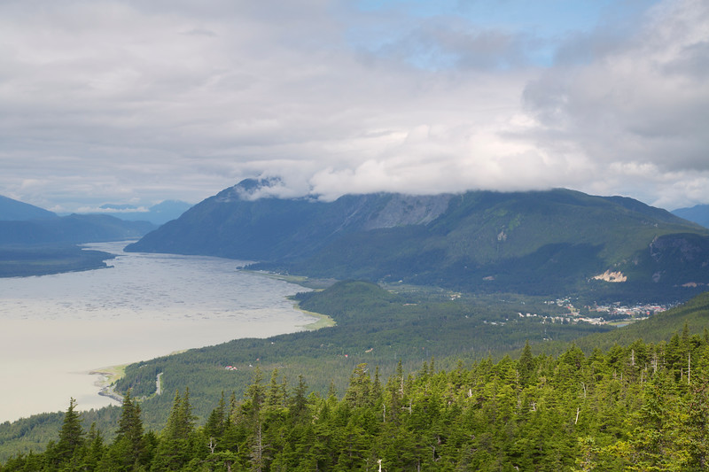 Haines from Mt. Riley Trail