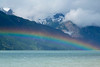 Rainbow over Chilkat Inlet