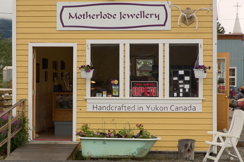 Gift Shop, Carcross, Y.T., Canada