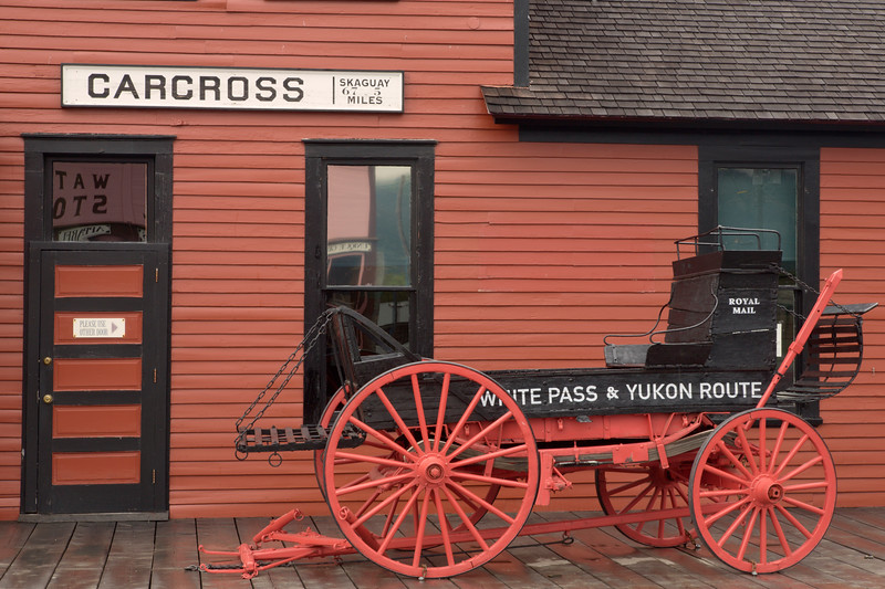 White Pass RR Depot, Carcross, Y.T.,Canada