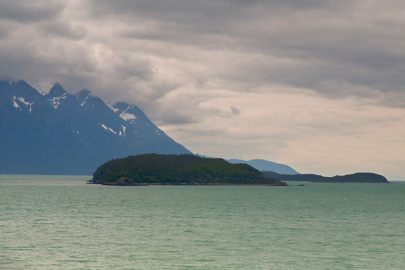 Chilkat Islands from Seduction Point