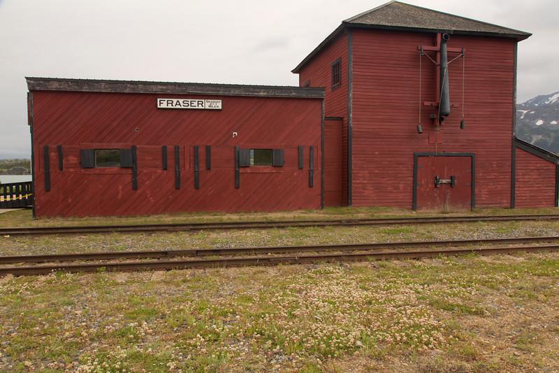 White Pass RR Depot, Fraser, B.C. Canada