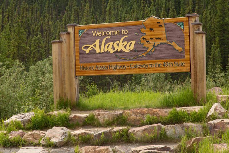 Alaska - Yukon Border