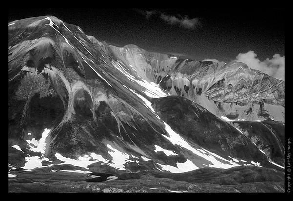 F15 Mountain Faces (grayscale)
