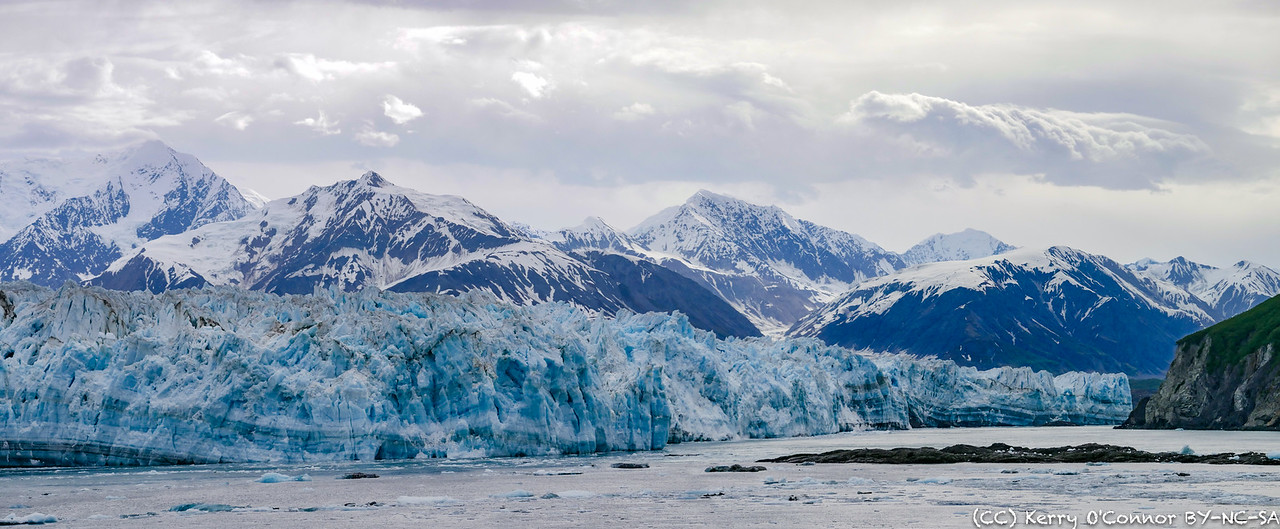 Hubbard Glacier pano